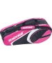 Babolat Club Line Racquet Holder x6 (Pink) - Babolat Tennis Bags