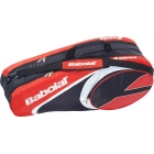 Babolat Club Line Racquet Holder x6 (Red) - Racquet Bags