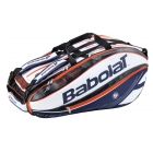 Babolat Pure Aero French Open Racquet Holder x12 2016 - 7 Racquet Tennis Bags