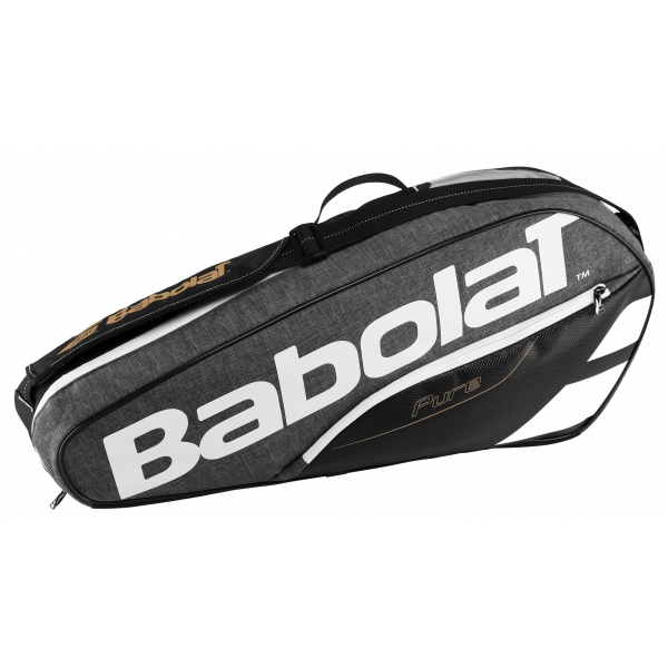 Babolat Pure Racquet Holder 3-Pack (Grey)