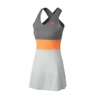 Yonex Women's Bencic French Open Tennis Dress (Gray) - Tennis Apparel