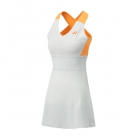 Yonex Women's Bencic French Open Tennis Dress (Ice Gray) - Tennis Apparel