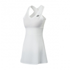 Yonex Women's Bencic French Open Tennis Dress (White) - Tennis Apparel