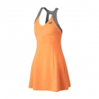 Yonex Women's Bencic World Tour Tennis Dress (Light Orange) - Tennis Apparel