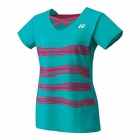 Yonex Women's Melbourne Tournament Style Cap Sleeve Tennis Top (Emerald Green) - Yonex