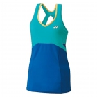 Yonex Women's Grand Slam Tournament Style Tennis Tank (Deep Blue) - Yonex