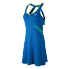 Yonex Women's Grand Slam Tournament Style Tennis Dress (Deep Blue) - Yonex