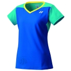 Yonex Women's Paris Tournament Style Cap Sleeve Tennis Top (Deep Blue) - Yonex
