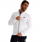 Lotto Men's Squadra Full Zip Tennis Sweatshirt (Brilliant White) -