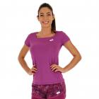 Lotto Women's Top Ten Tennis Tee (Purple Willow) -