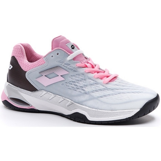 Lotto Women's Mirage 100 Speed Tennis Shoes (All White/Pink/All Black)