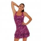 Lotto Women's Printed Top Ten Tennis Dress (Purple Willow) -