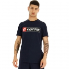 Lotto Men's Logo Tee (All Black) -