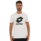 Lotto Men's Smart II Tee (Bright White) -