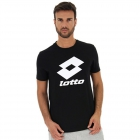 Lotto Men's Smart II Tee (All Black) -