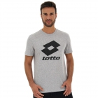 Lotto Men's Smart II Tee (Cool Gray 6C) -