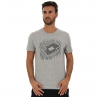 Lotto Men's Losanga Tee (Cool Gray 6C) -