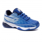 Lotto Junior Mirage 300 ALR Tennis Shoes (Nebulas Blue/All White/Navy Blue) -
