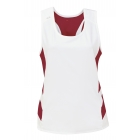 DUC Double Digits Reversible Women's Tank (Cardinal) - Tennis Apparel