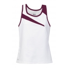 DUC Slice Women's Tank (Maroon) - Tennis Apparel