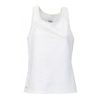 DUC Slice Women's Tank (White) - DUC Women's Apparel Tennis Apparel