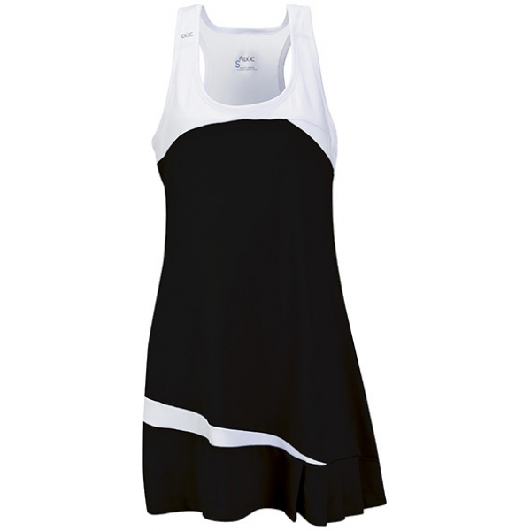 DUC Fire Women's Tennis Dress (Black)