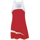 DUC Fire Women's Dress (Red) - DUC Women's Team Tennis Dresses