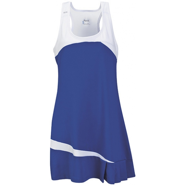 DUC Fire Women's Tennis Dress (Royal)