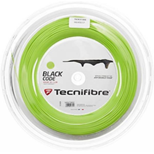 Tecnifibre Black Code Lime 16g Tennis String (Reel)