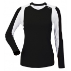 DUC Roll Women's Longsleeve (Black/ White) - DUC Women's Apparel Tennis Apparel