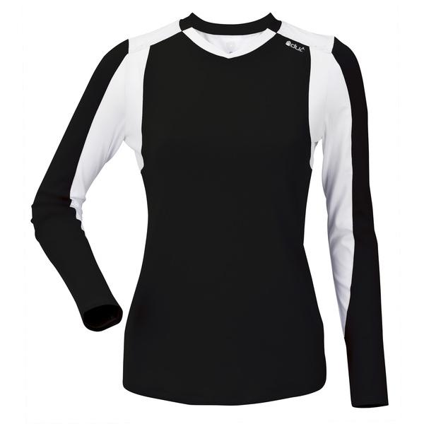 DUC Roll Women's Longsleeve (Black/ White)