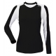 DUC Roll Women's Longsleeve (Black/ White) [SALE] - Discount Tennis Apparel