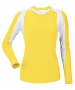DUC Roll Women's Longsleeve (Gold/ White) - DUC Tennis Apparel