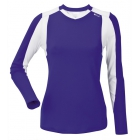 DUC Roll Women's Longsleeve (Purple/ White) - Women's Sleeveless Shirts