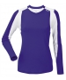 DUC Roll Women's Longsleeve (Purple/ White) - DUC Tennis Apparel