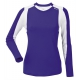 DUC Roll Women's Longsleeve (Purple/ White) - Women's Team Apparel