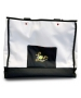 40 Love Courture White Canvas Tennis Tote - Tennis Tote Bags