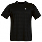 DUC Traction Men's Tennis Crew (Black) - DUC Men's Tennis T-Shirts & Crew Necks