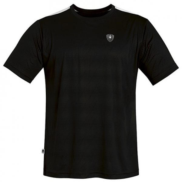 DUC Traction Men's Tennis Crew (Black)