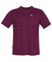 DUC Traction Men's Tennis Crew (Maroon) - DUC Men's Tennis T-Shirts & Crew Necks