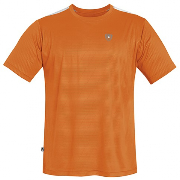 DUC Traction Men's Tennis Crew (Orange)