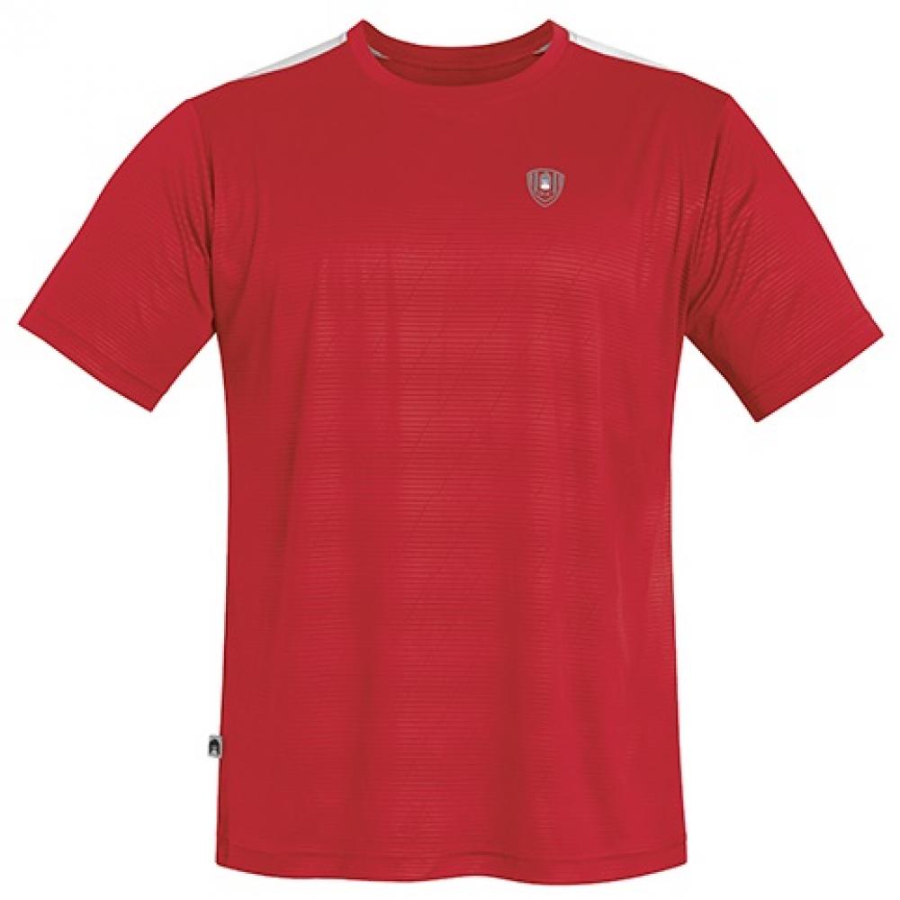 DUC Traction Men's Tennis Crew (Red)