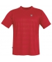 DUC Traction Men's Tennis Crew (Red) - DUC Men's Tennis T-Shirts & Crew Necks