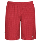 DUC Diamond Daze Men's Tennis Shorts (Red) - DUC Men's Team Tennis Shorts