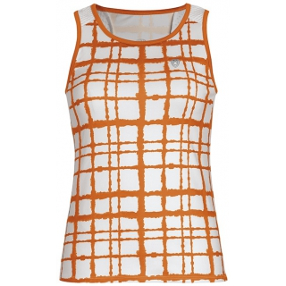 DUC Absolute Women's Racer Tank (White/ Orange)