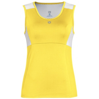 DUC Look-Out Women's Tank (Gold/ White)