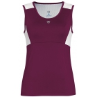DUC Look-Out Women's Tank (Maroon/ White) - Mother's Day Specials on Tennis Apparel
