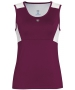 DUC Look-Out Women's Tank (Maroon/ White) - Women's Sleeveless Shirts