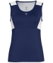 DUC Look-Out Women's Tank (Navy/ White) - Women's Sleeveless Shirts