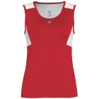 DUC Look-Out Women's Tank (Red/ White) - Women's Sleeveless Shirts